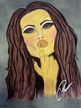 Blowing Kisses by Chrissy  Pena