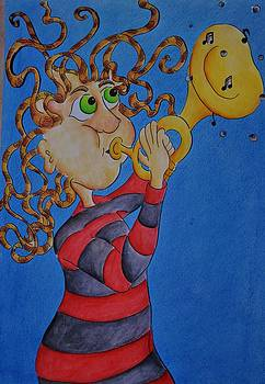 Blowing my own trumpet by Nicole Dixon