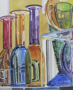 Blown Glass by Carol Flagg