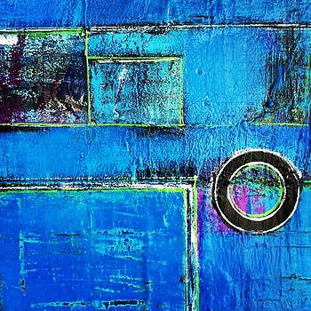 Blue Abstractions by Danielle Rourke