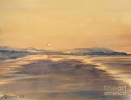Martin Howard - Blue Anchor Sunset