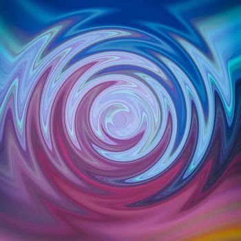 Bamalam  Photography - Blue and purple swirl