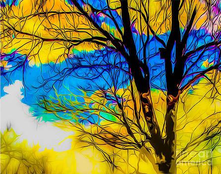 Algirdas Lukas - Blue and yellow sky