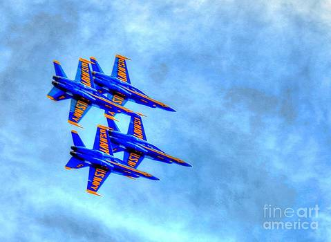 Blue Angel 2 by Debbi Granruth