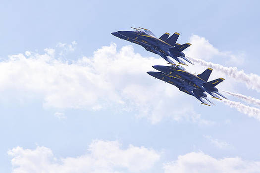 Blue Angels 15 by Jessica Snyder
