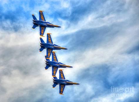Blue Angels by Debbi Granruth