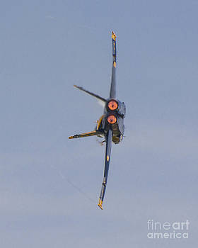 Tim Mulina - Blue Angels F-18 in Burner