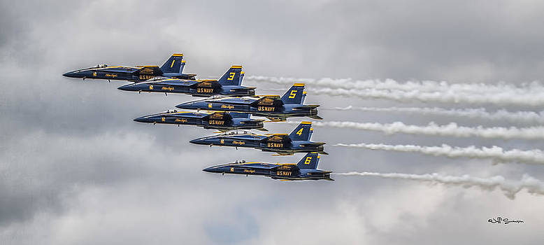 Blue Angels by Jeff Swanson