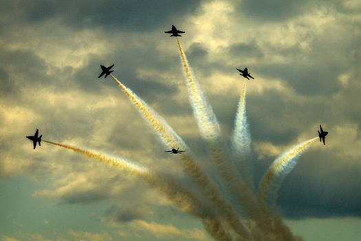 Blue Angels by Donna Tomlin