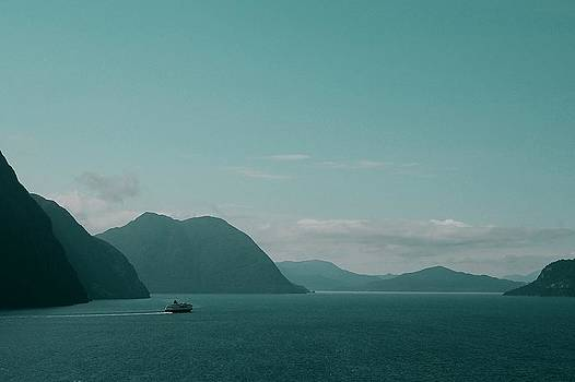 Blue as Fjord by Sonya Kanelstrand