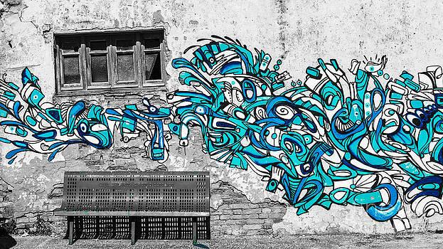 Blue Attack by Eugenio Moya