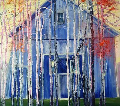 Blue Barn by Blanche Serban