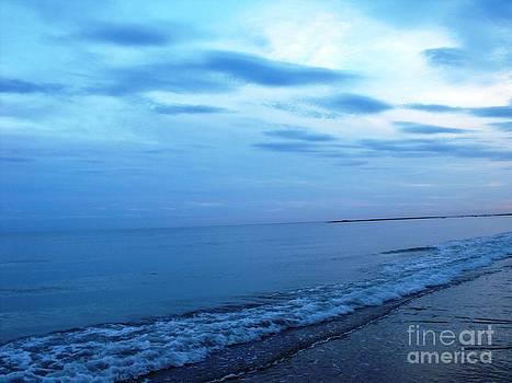 Blue Beach by Lisa Gifford