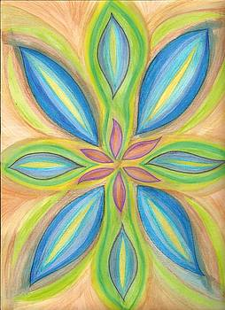 Blue Beauty Chakra  by Karla Ricker