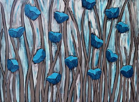 Blue bells by Holly Donohoe