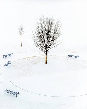 Blue Benches by Ben  Keys Jr