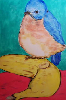 Blue Bird by Barbara Leavitt