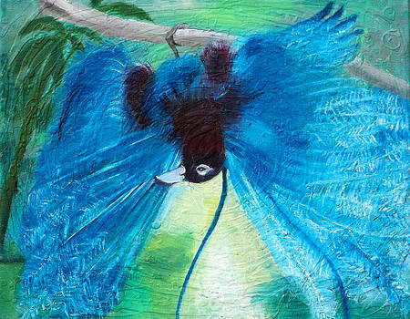 Anne Cameron Cutri - Blue Bird of Paradise