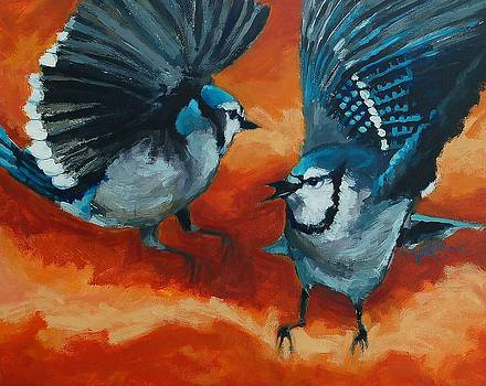 Blue birds by Khairzul MG
