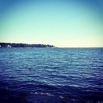Blue Blue Sea #beach #rhodeisland by Kelli Donnelly
