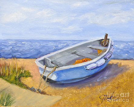 Blue Boat by Gracie Hampton