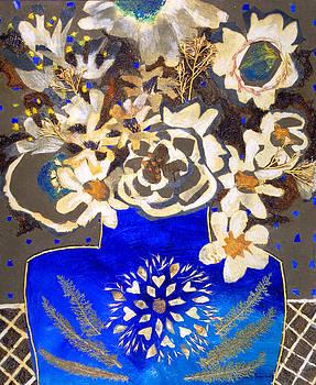 Diane Fine - Blue Bouquet