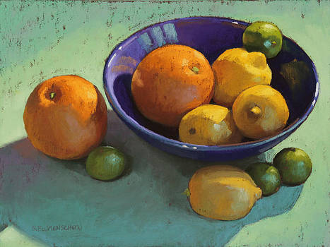 Blue Bowl 2 by Sarah Blumenschein