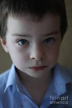 Blue boy by Andrzej Goszcz. by  Andrzej Goszcz