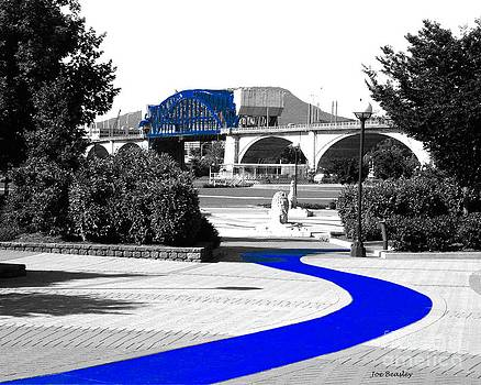 Blue Brick Path by   Joe Beasley