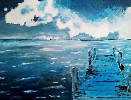 Blue Bridge by Brandon Galinis