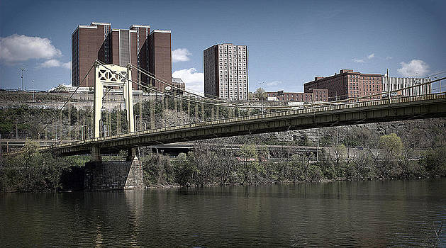 Blue Bridge by M Hess
