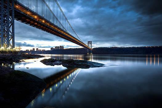 Blue By The Bridge by Tim Drivas