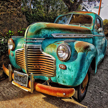 Blue Car by Bob Winberry