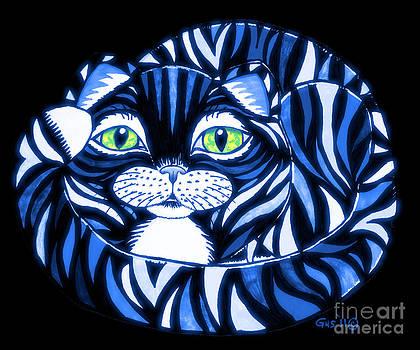 Nick Gustafson - Blue Cat Green Eyes
