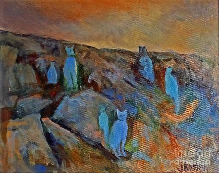 Blue Cats by Jessamine Barron