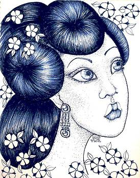 Blue China by Lenora Brown