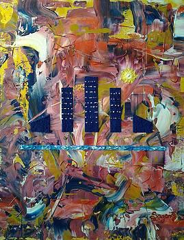 Blue City by Edwina Sage Washington