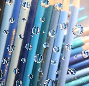 Adrienne Franklin - Blue Colored Pencils