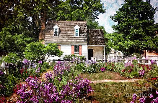 Shari Nees - Blue Cottage