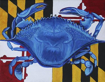 Blue Crab by Kate Fortin
