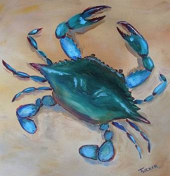 Blue Crab by Kathleen Tucker