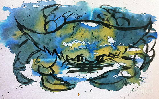 Blue Crab by Norma Gafford