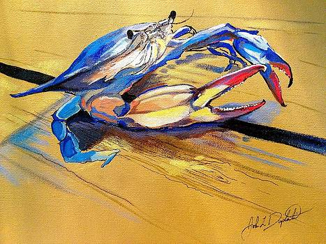 Blue Crabbie  by John  Duplantis