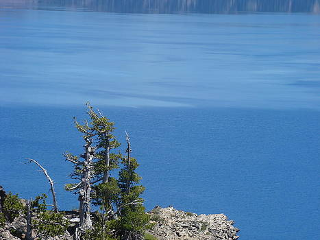 Baslee Troutman - Blue Crater Lake Oregon Art Prints