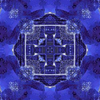 Blue Cross Radiance by David Mckinney