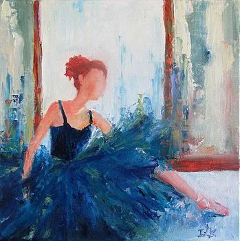 Blue Dancer by Irit Bourla