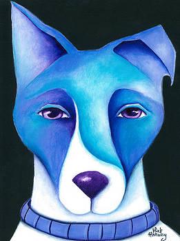 Blue Dog  by Deb Harvey