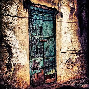 Blue Door by H Hoffman