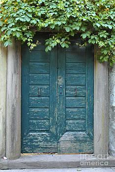 Blue Door by Sarah Christian