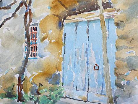 Blue Door Sorrento by Owen Hunt